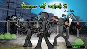 Anger of Stick 5: Zombie MOD APK 1